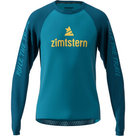 Zimtstern PureFlowz LS Shirt Men blue steel/french navy/mimosa